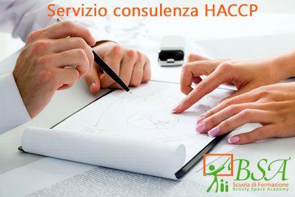 Servizio consulenza HACCP