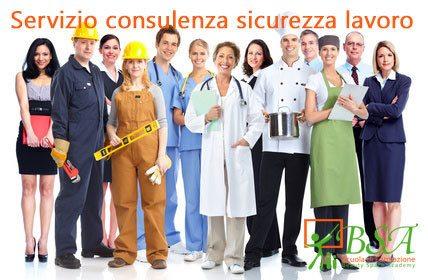Servizio consulenza sicurezza sul lavoro
